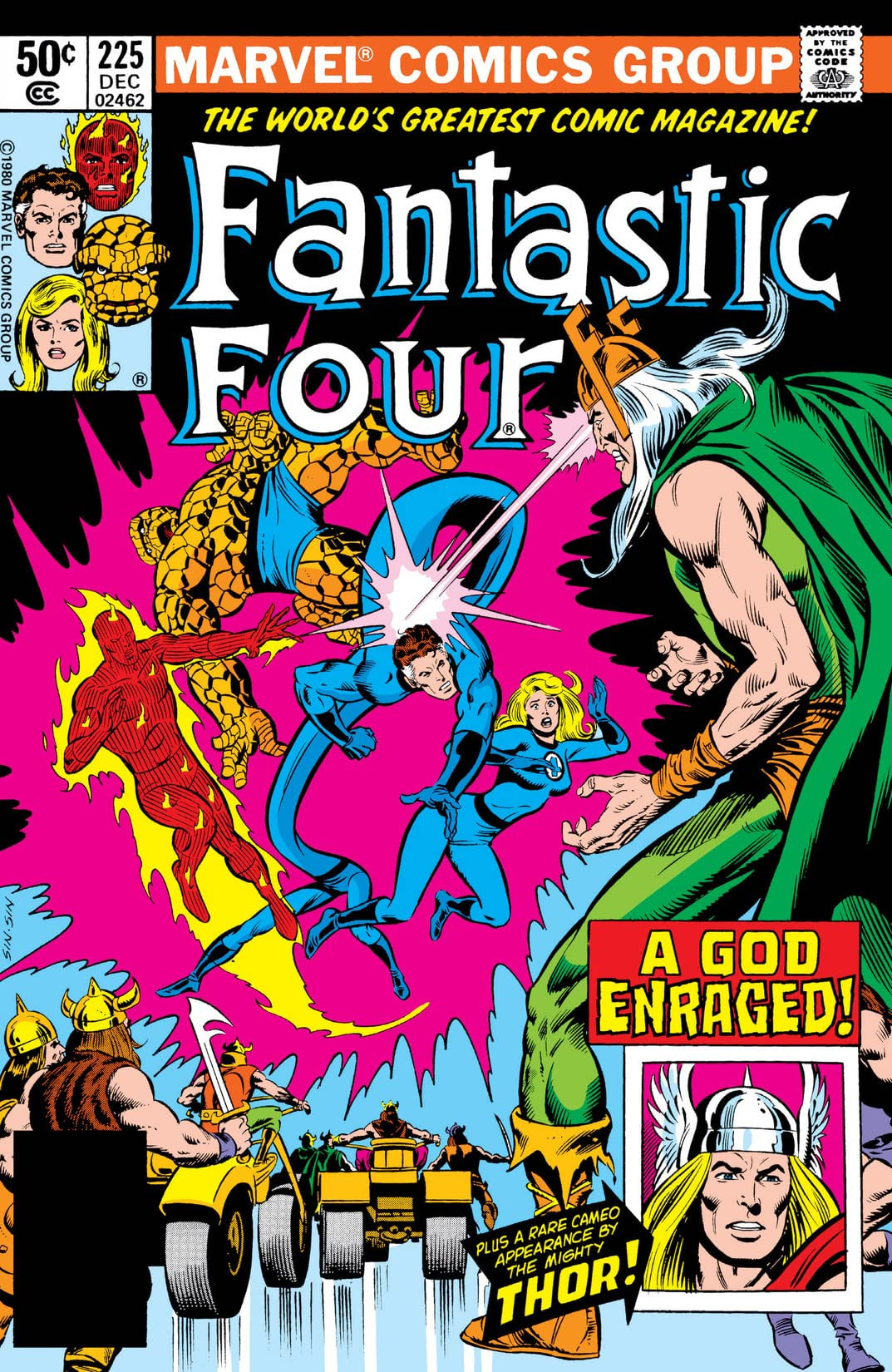 Fantastic Four Vol 1 225