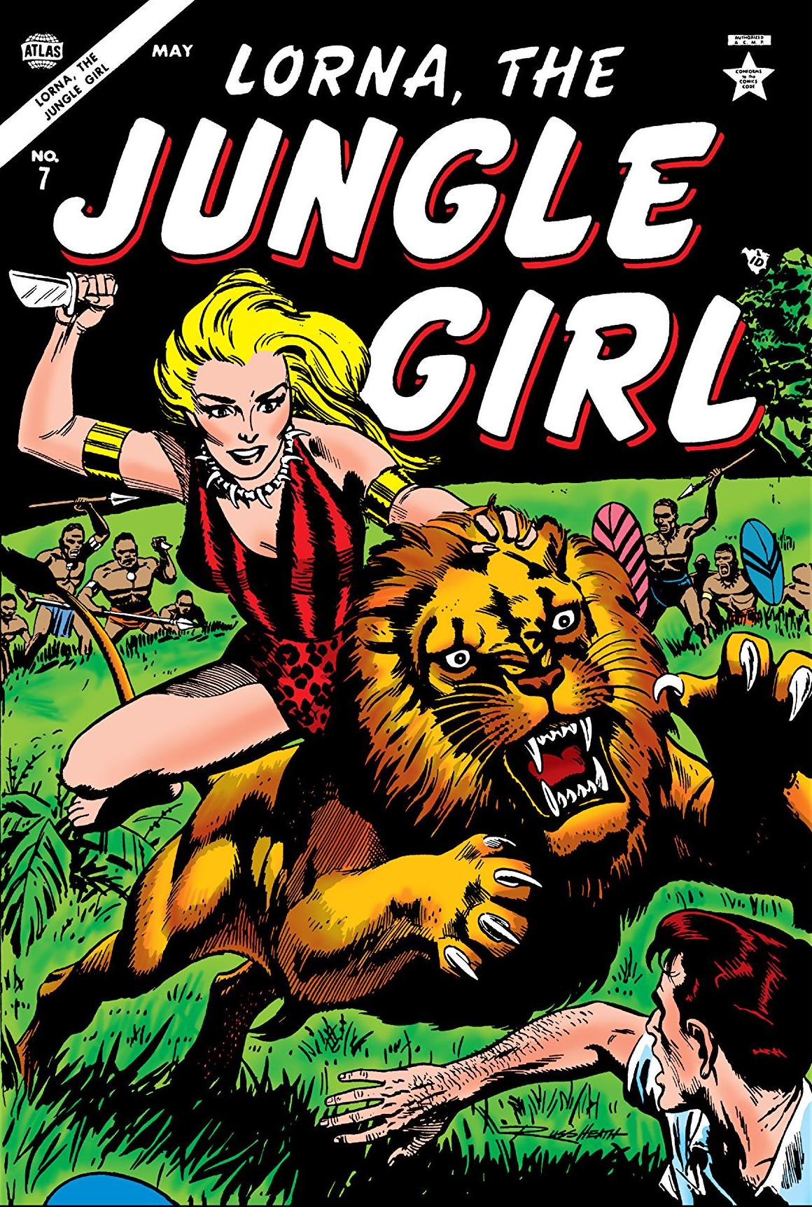 Lorna, the Jungle Girl Vol 1 7