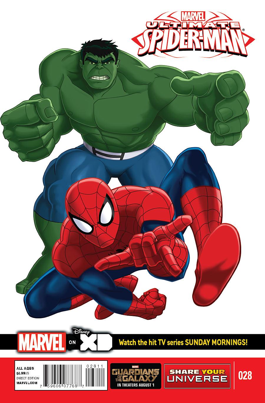 Marvel Universe: Ultimate Spider-Man Vol 1 28