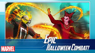 Mephisto (Earth-TRN562) and Roberto Reyes (Earth-TRN562) from Marvel Avengers Academy 001