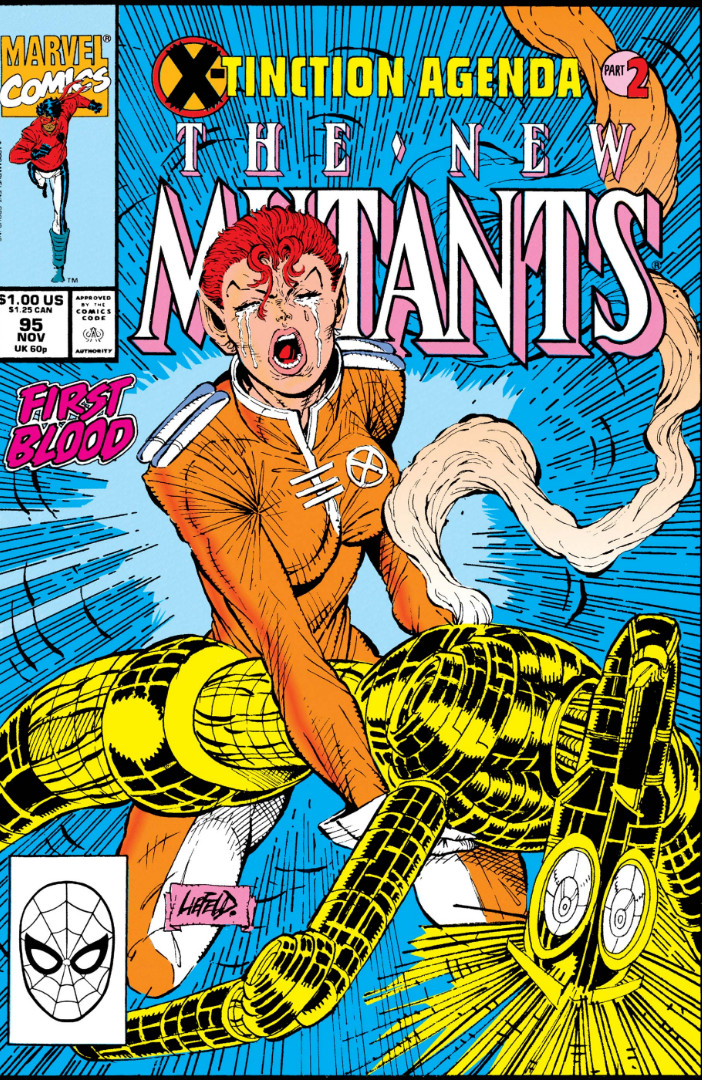 New Mutants Vol 1 95