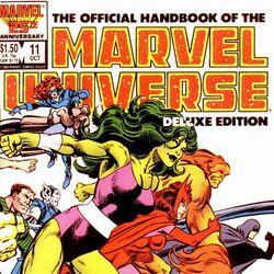 Official Handbook of the Marvel Universe Vol 2 11