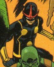 Samuel Alexander (Project Doppelganger LMD) (Earth-18236) from Spider-Man Deadpool Vol 1 34 001.jpg