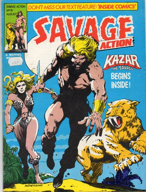 Savage Action Vol 1 10
