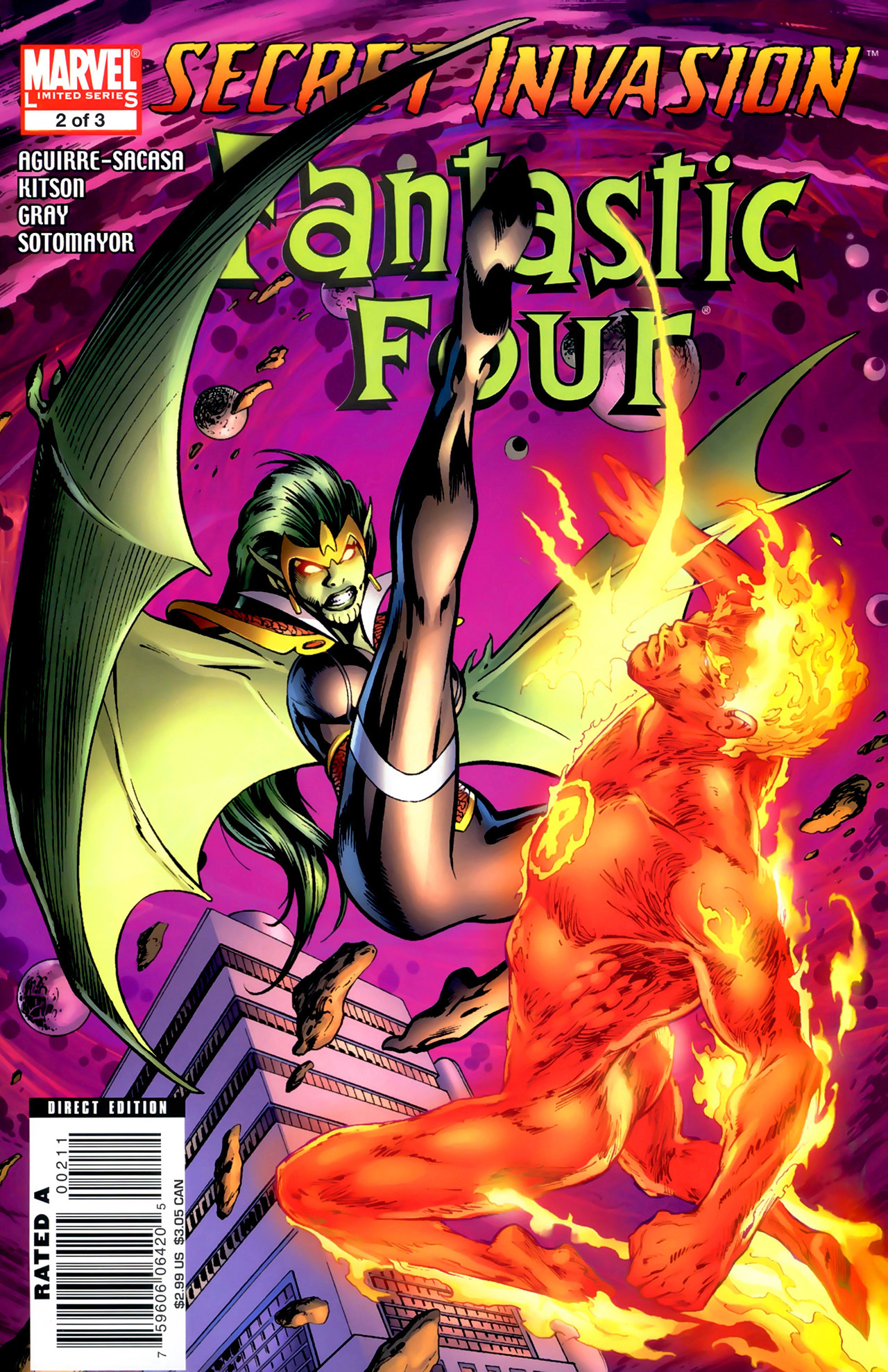 Secret Invasion: Fantastic Four Vol 1 2