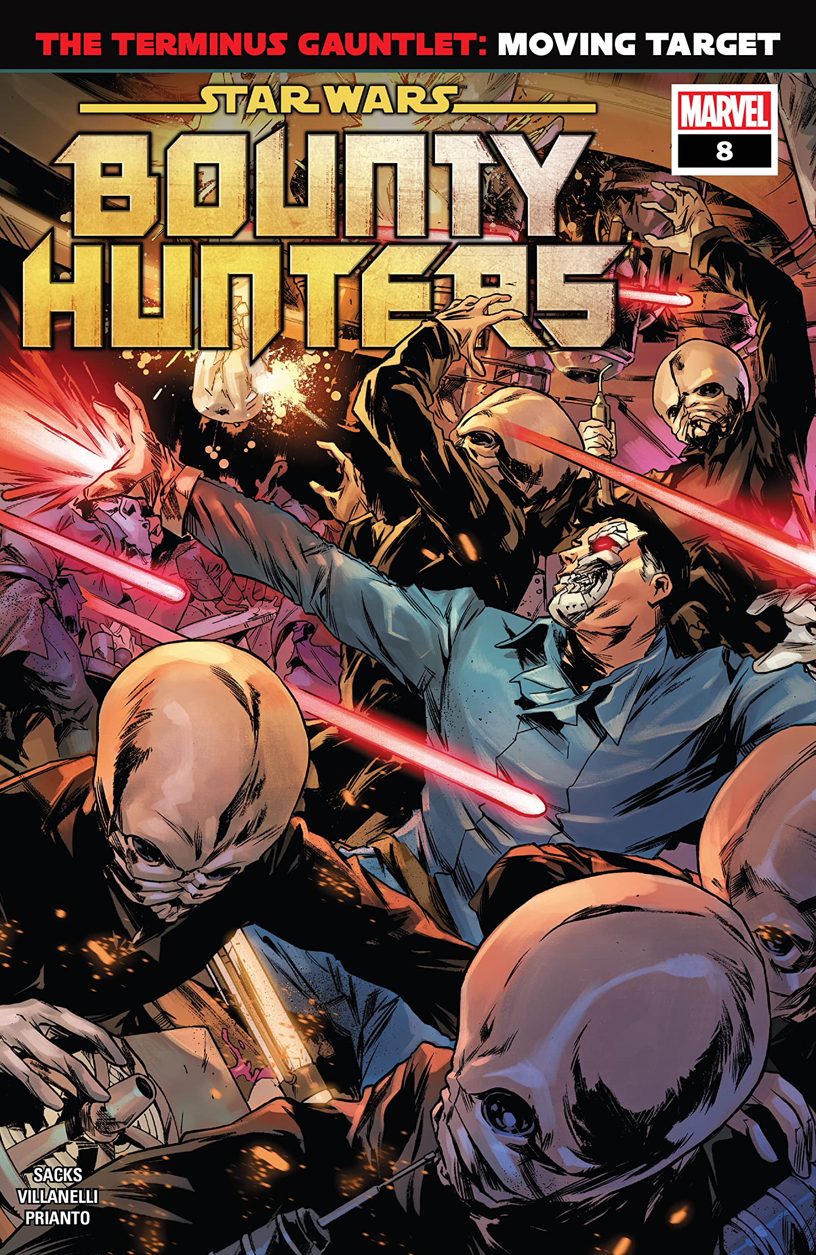 Star Wars: Bounty Hunters Vol 1 8