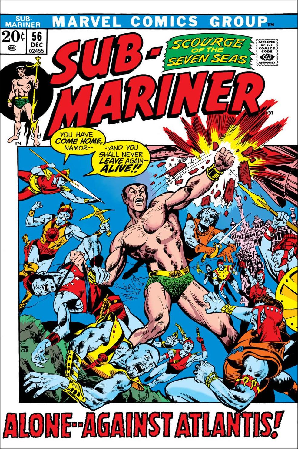 Sub-Mariner Vol 1 56