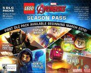 T'Challa (Earth-13122), Carol Danvers (Earth-13122), Stephen Strange (Earth-13122), Melinda May (Earth-13122), and Helmut Zemo (Earth-13122) from LEGO Marvel's Avengers 001