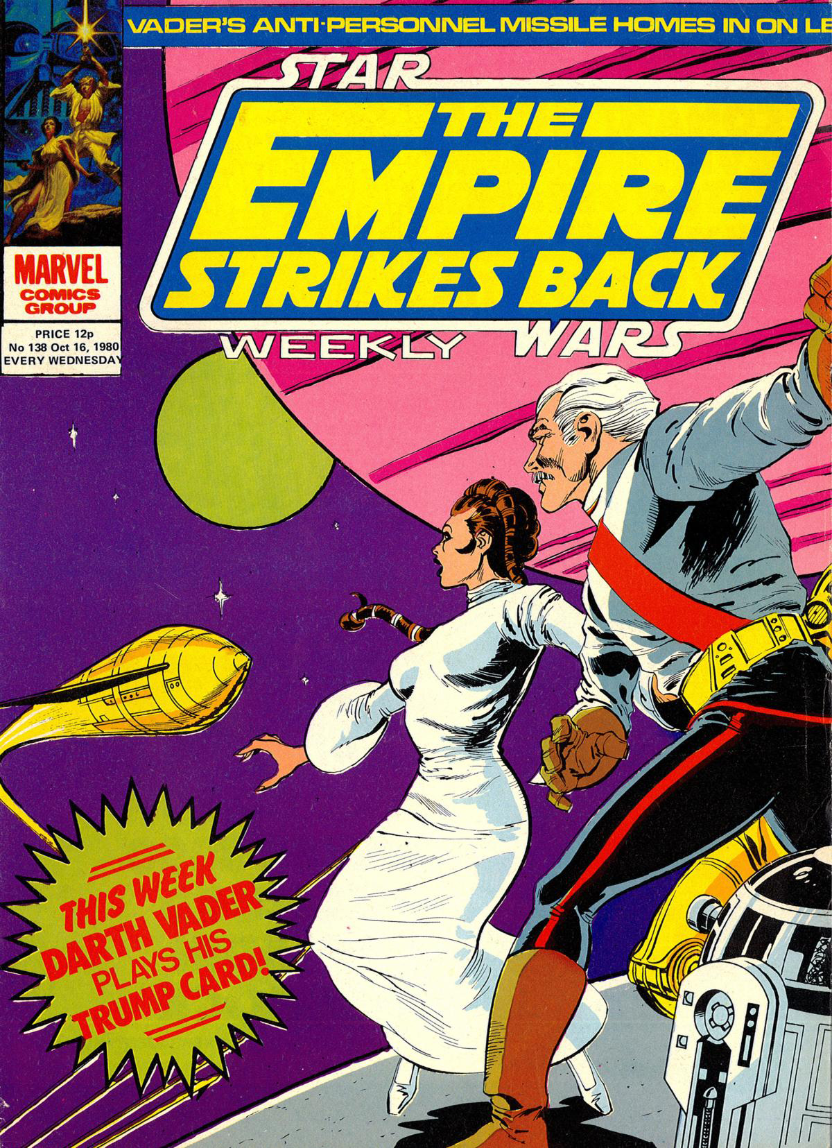 The Empire Strikes Back Weekly (UK) Vol 1 138