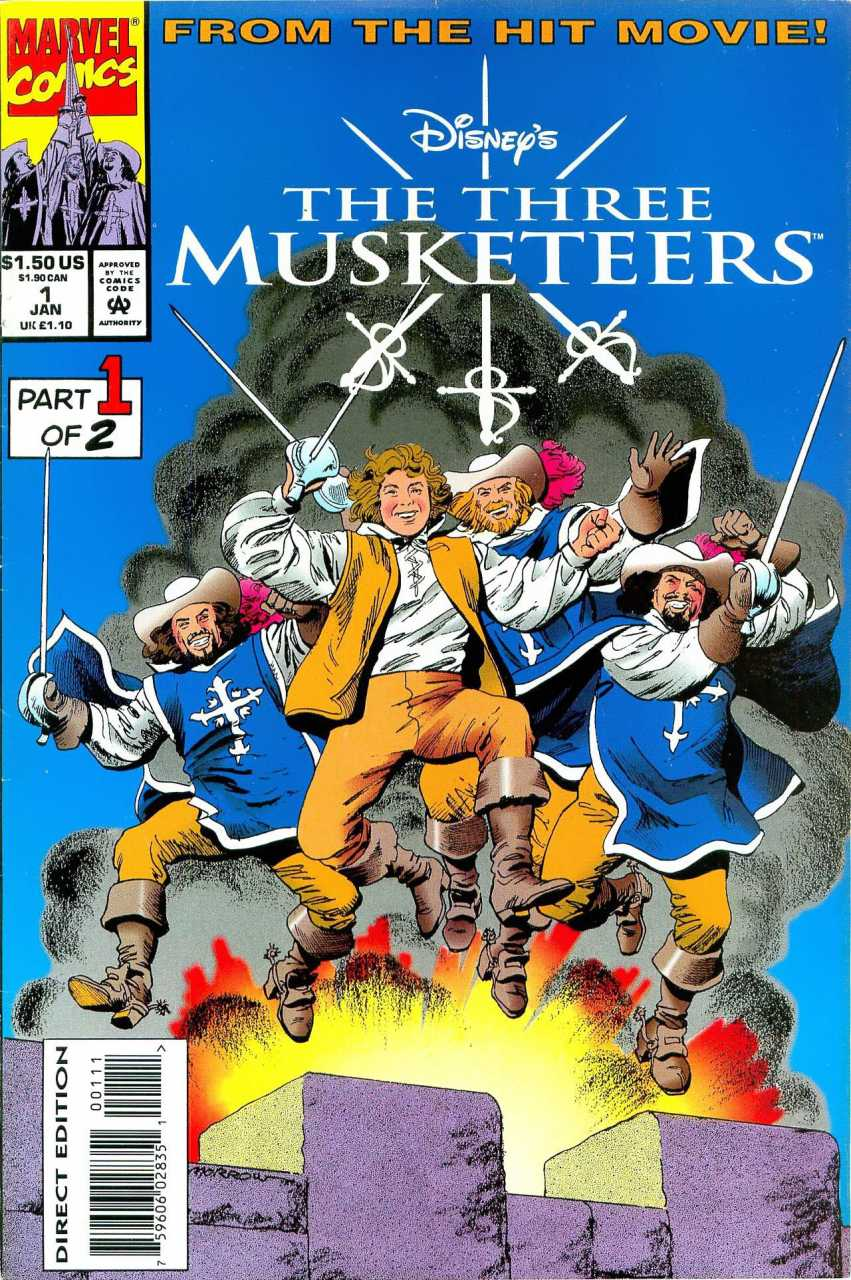 Three Musketeers Vol 1