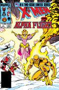 X-Men Alpha Flight Vol 1 1