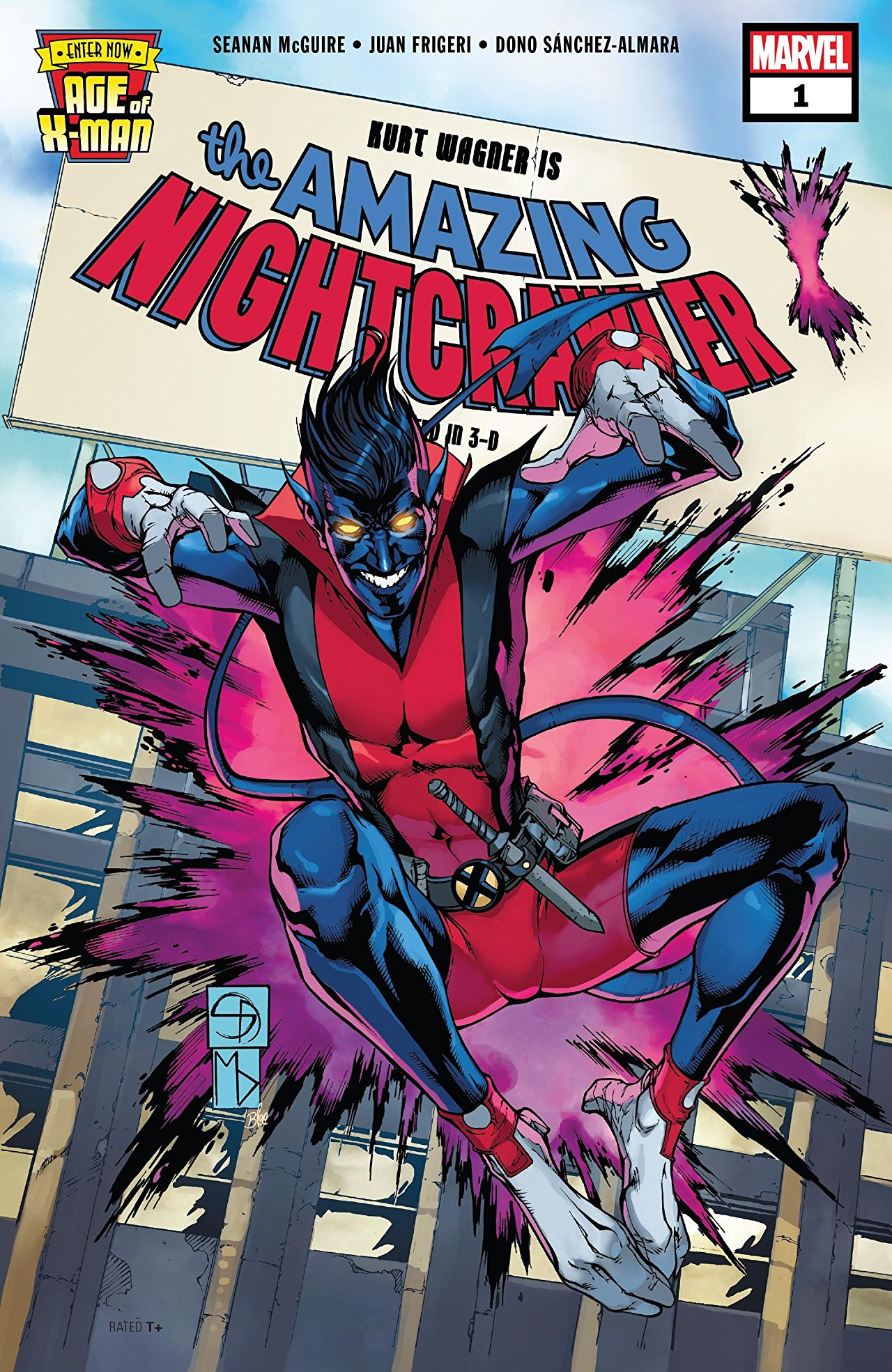 Age of X-Man: The Amazing Nightcrawler Vol 1 1