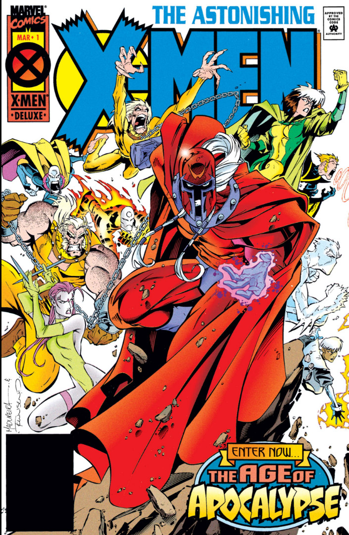 Astonishing X-Men Vol 1 1