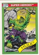 Bruce Banner (Earth-616) from Marvel Universe Cards Series I 0001