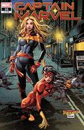 Captain Marvel Vol 10 16 Spider-Woman Variant