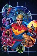 Captain Marvel Vol 9 2 Jimenez Variant Textless