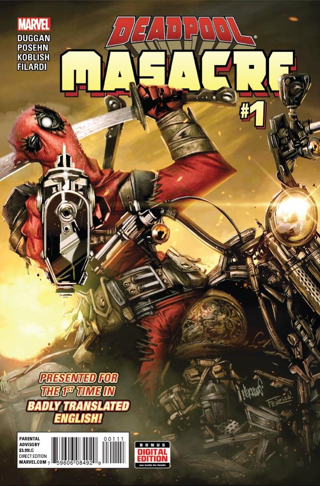 Deadpool: Masacre Vol 1 1
