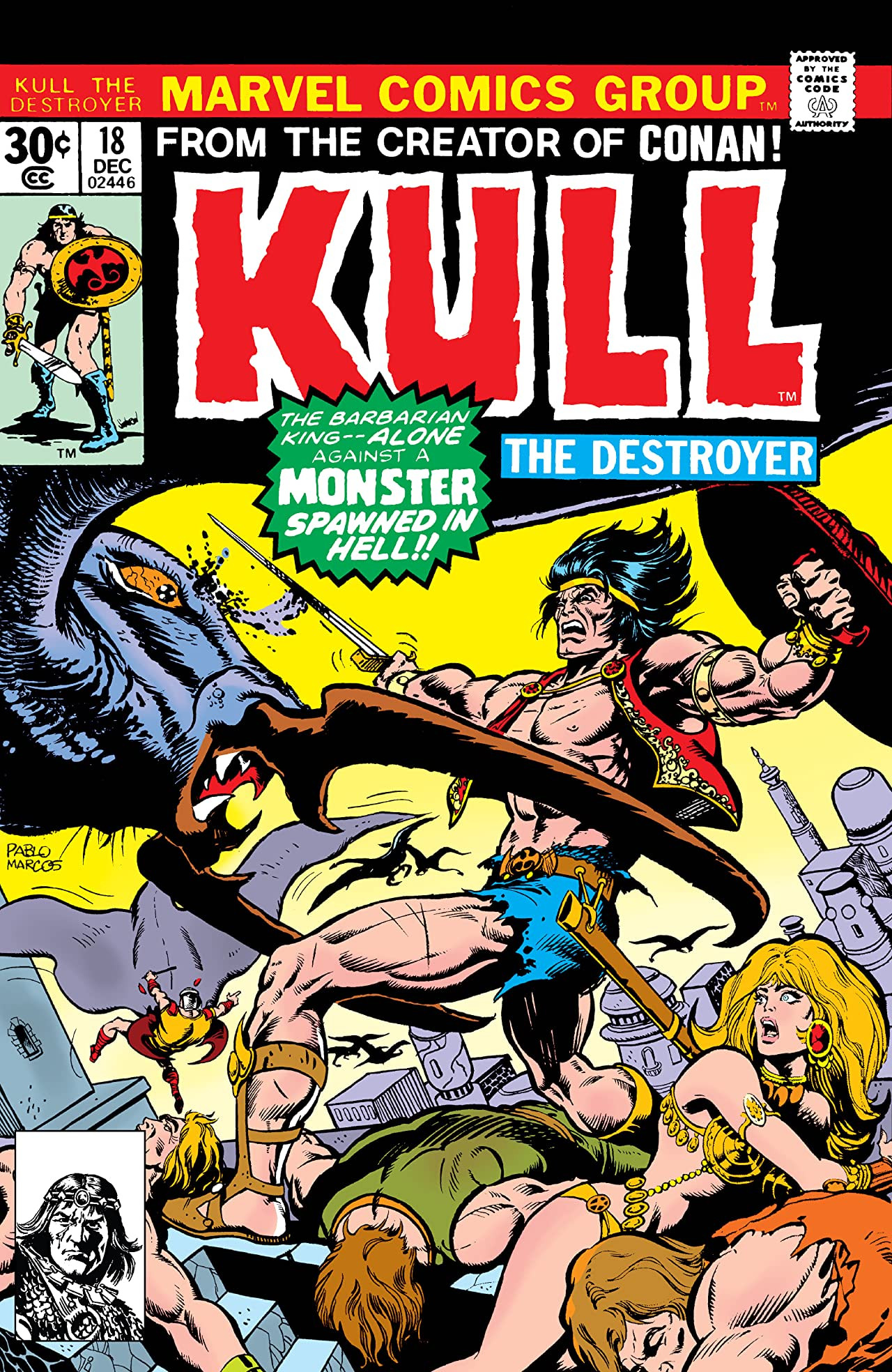 Kull the Destroyer Vol 1 18