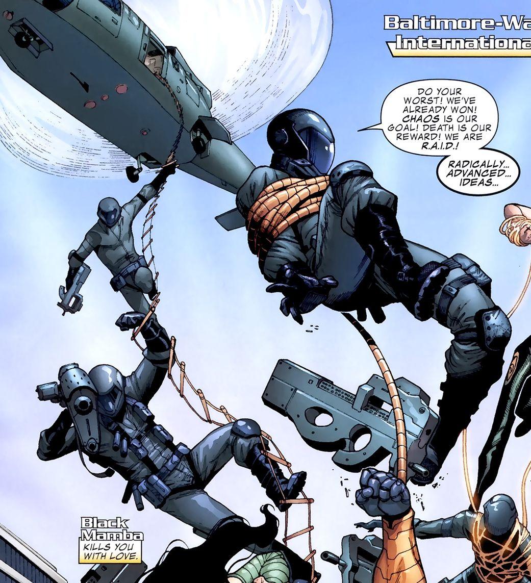 Radically Advanced Ideas in Destruction (Earth-616)