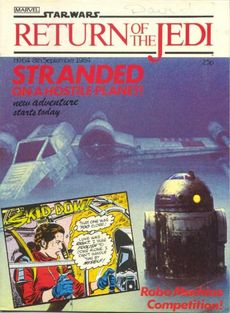 Return of the Jedi Weekly (UK) Vol 1 64