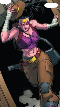 Shiklah (Earth-61610) from Mrs. Deadpool and the Howling Commandos Vol 1 1 001.jpg
