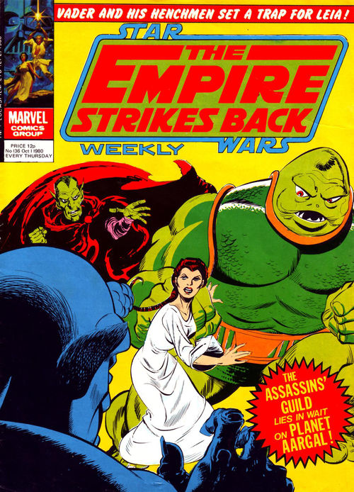 The Empire Strikes Back Weekly (UK) Vol 1 136