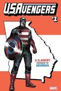 U.S.Avengers Vol 1 1 Georgia Variant