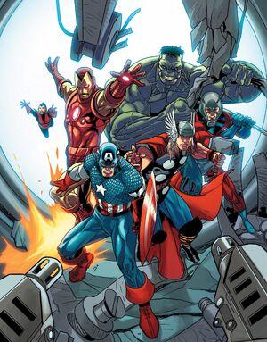 Avengers (Earth-14325) from Avengers Vol 5 25 0001.jpg