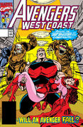 Avengers West Coast Vol 1 73