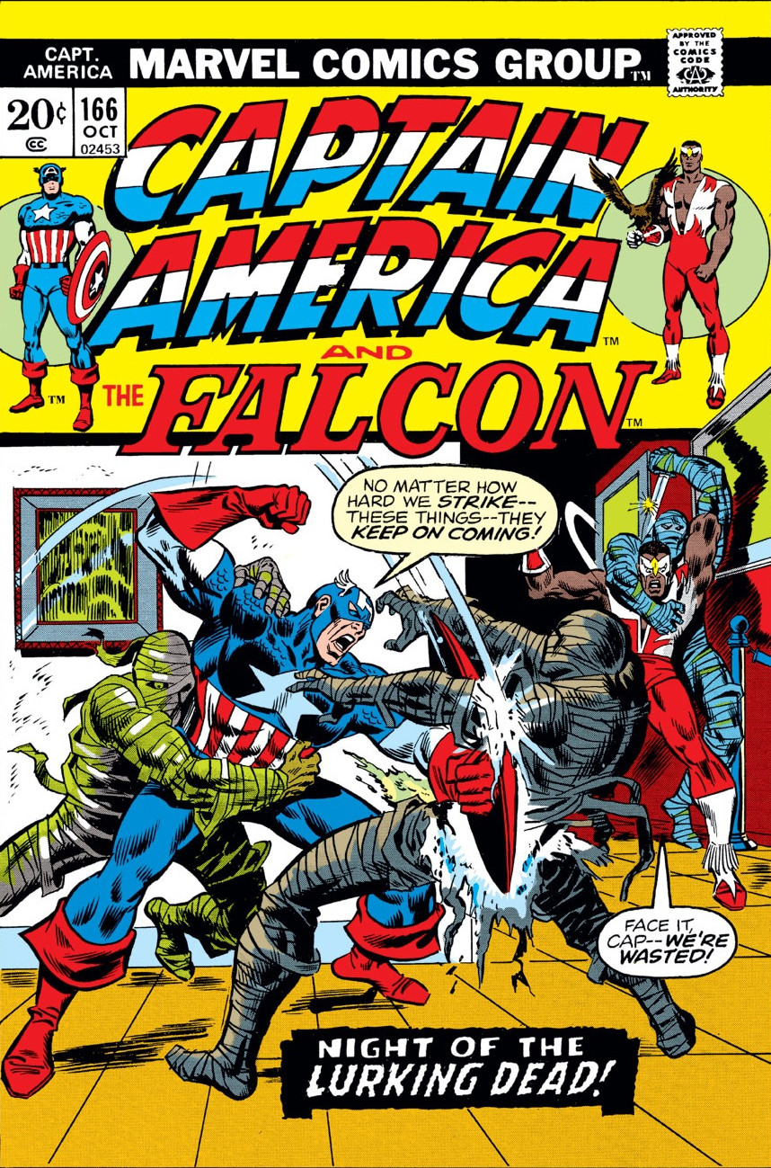 Captain America Vol 1 166