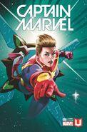 Captain Marvel Vol 9 6 Marvel Unlimited Exclusive Variant