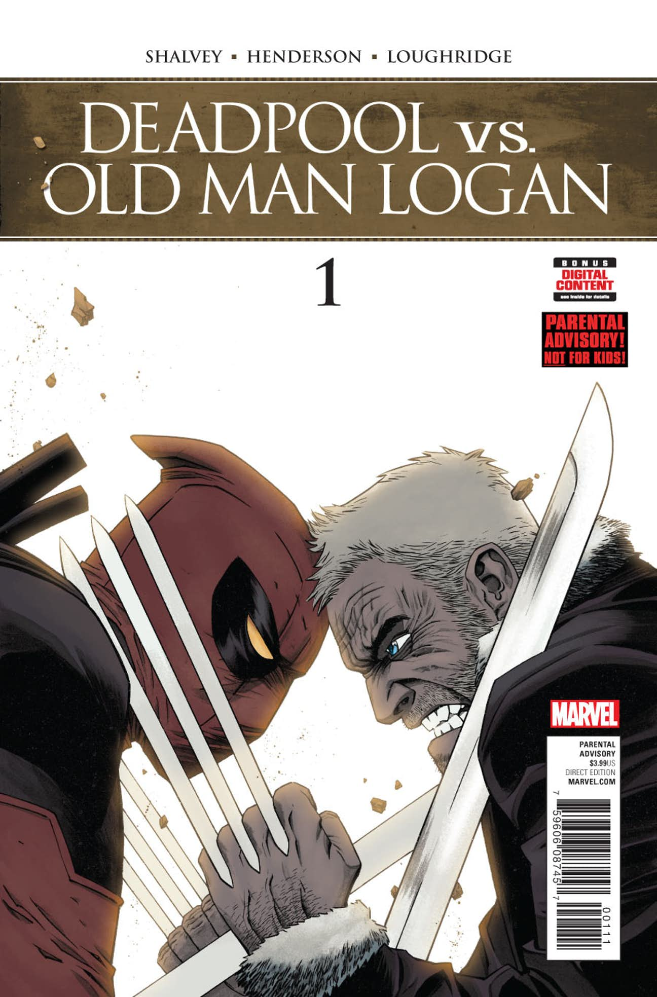 Deadpool vs. Old Man Logan Vol 1 1