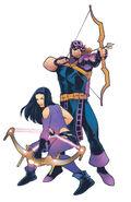 Generations Hawkeye & Hawkeye Vol 1 1 Torque Variant Textless