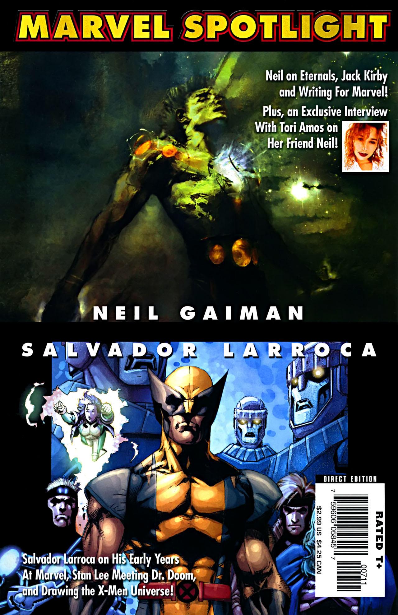 Marvel Spotlight: Neil Gaiman/Salvador Larroca Vol 1 1