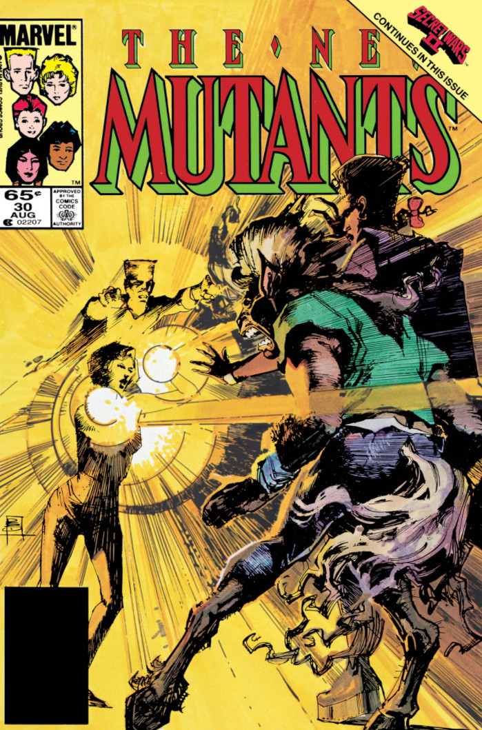 New Mutants Vol 1 30