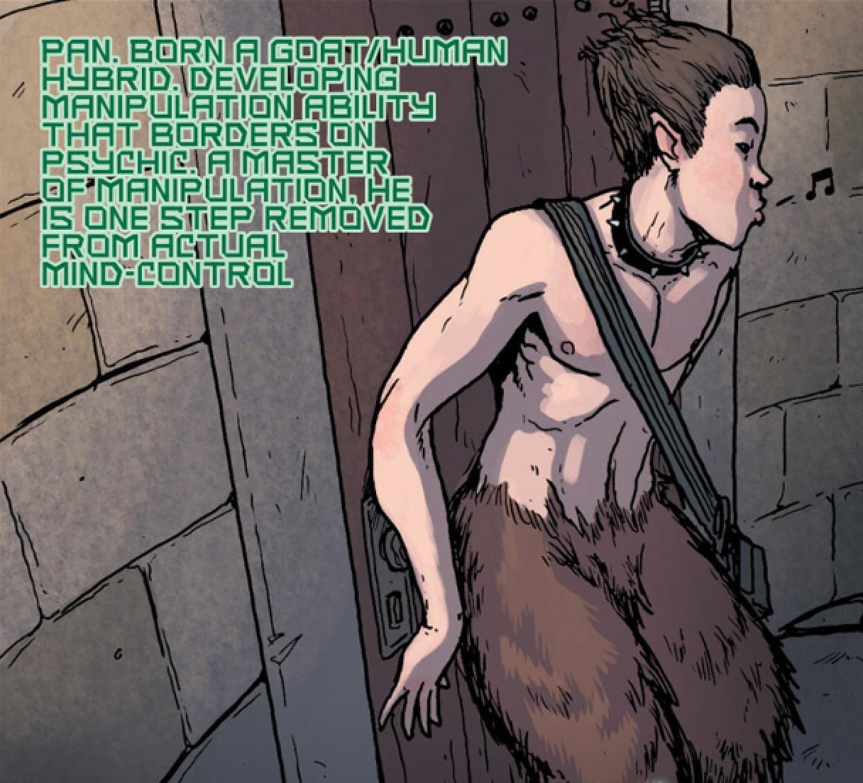 Pan (Earth-616)/Gallery