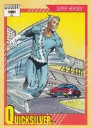 Pietro Maximoff (Earth-616) from Marvel Universe Cards Series II 0001