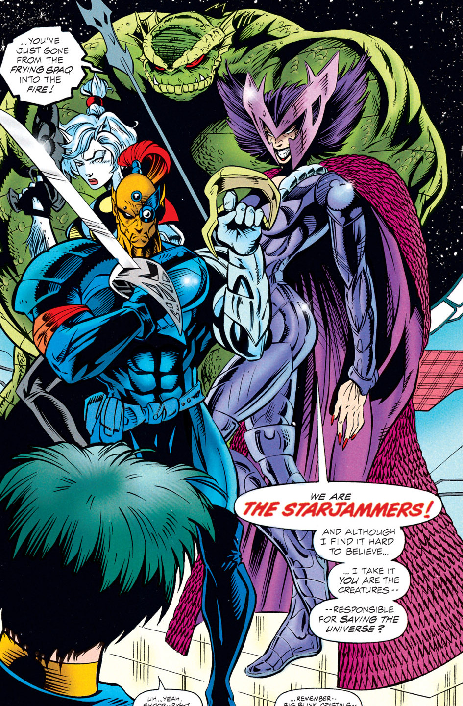 Starjammers (Earth-295)