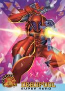 Wade Wilson (Earth-616) from X-Men (Trading Cards) 1996 Set 001