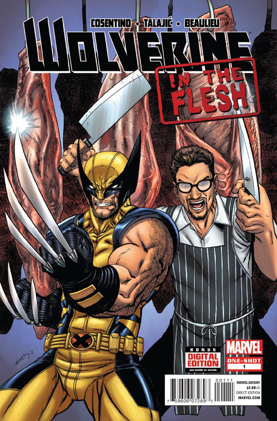 Wolverine: In the Flesh Vol 1 1