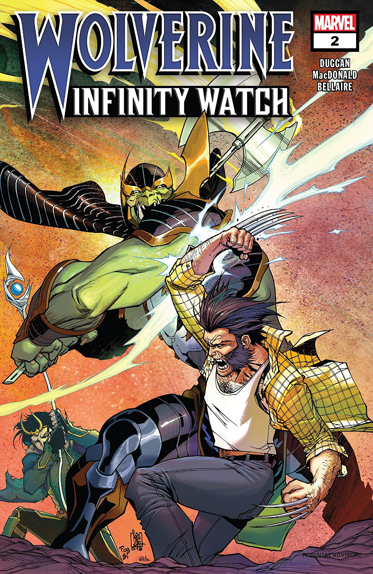 Wolverine: Infinity Watch Vol 1 2