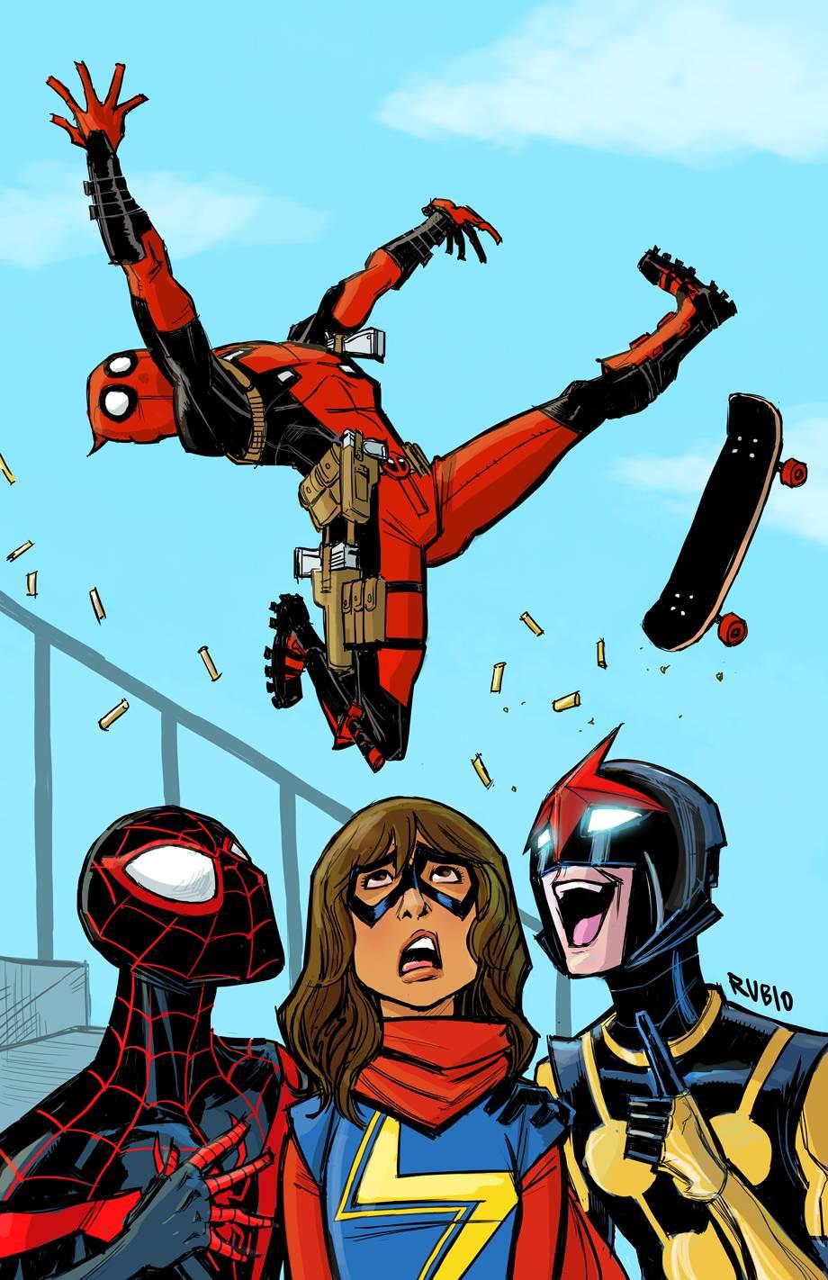 All-New, All-Different Avengers Vol 1 4 Deadpool Variant Textless.jpg
