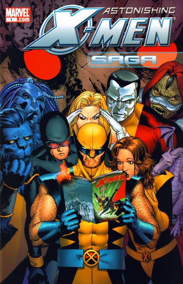 Astonishing X-Men Saga Vol 1
