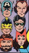 Avengers (Earth-616) from Avengers Vol 1 254 Cover