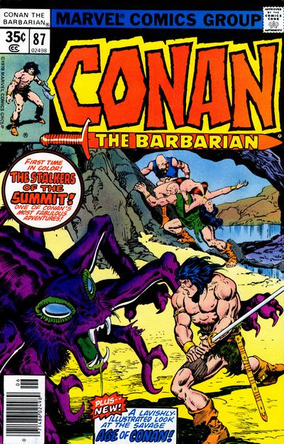 Conan the Barbarian Vol 1 87