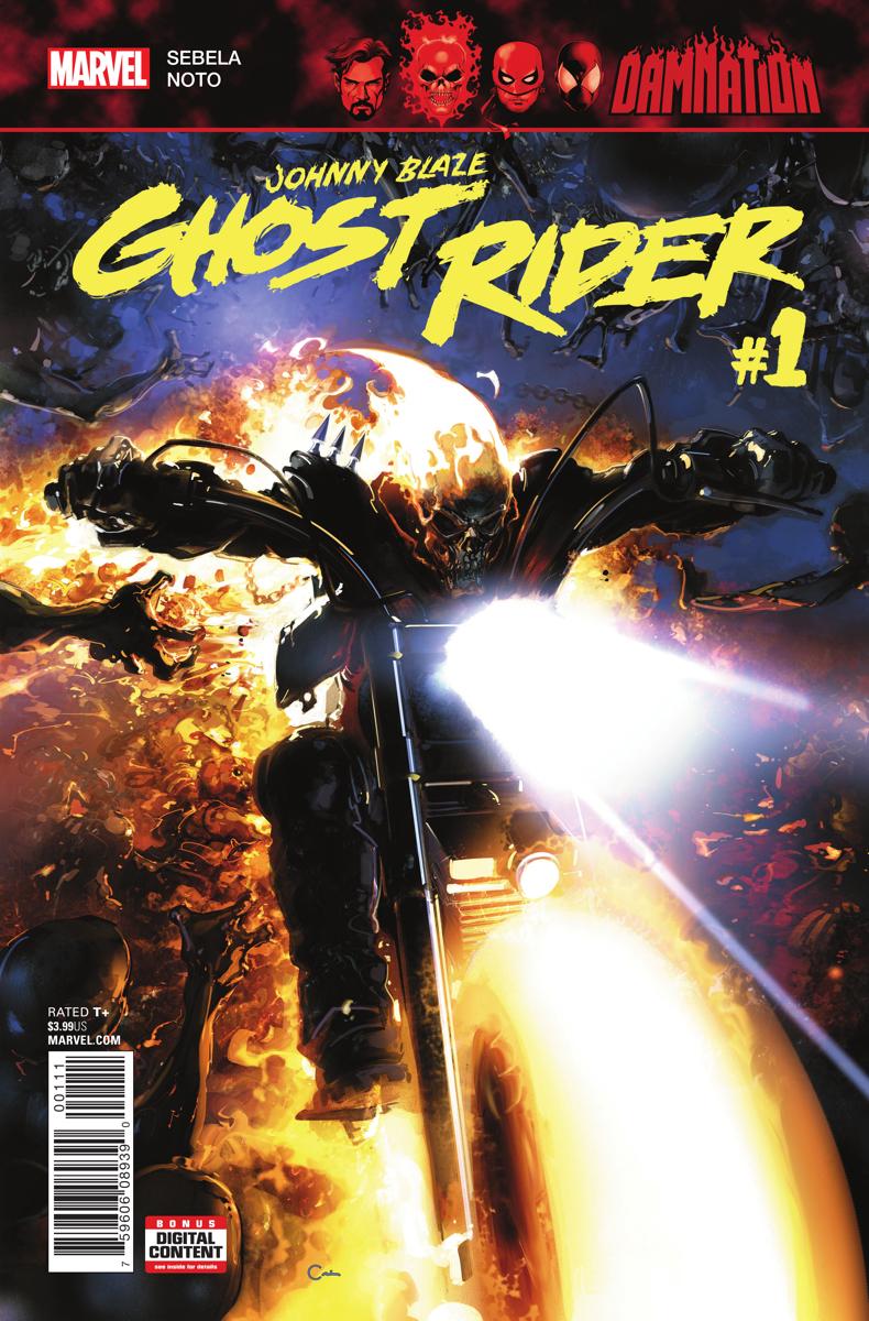 Damnation: Johnny Blaze - Ghost Rider Vol 1 1