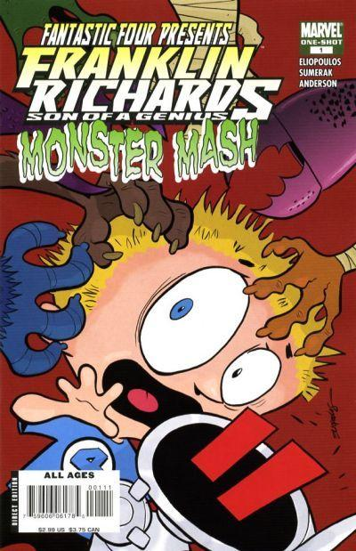 Franklin Richards: Monster Mash Vol 1 1
