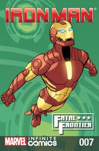 Iron Man Fatal Frontier Infinite Comic Vol 1 7