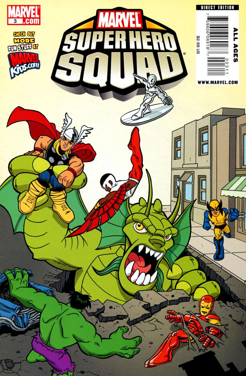 Marvel Super Hero Squad Vol 1 3
