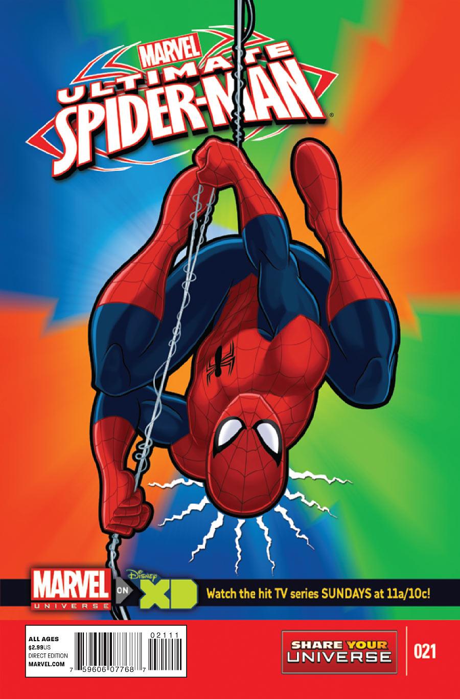 Marvel Universe: Ultimate Spider-Man Vol 1 21